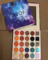 Nuovo trucco caldo CLEOF Cosmetics 25 colori Glitter Shimmer Eyeshadow Palette Bellezza Matte Shimmer Eye Shadow DHL shipping + Gift