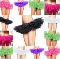 5 layers Girls Dancewear Ballet Dress Tutu Skirt Dancing Dre...