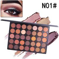 Miss Rose Shimmer Палитра теней Matte 35 цветов Тени для век Pearl глаз тени для макияжа с глаз