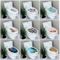 HELLOYOUNG 32 * 39cm çıkartması WC kapak tuvalet ayaklı tuvaletler dışkı tuvalet kapağı sticker WC ev dekorasyon banyo Aksesuarları