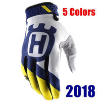 Husqvarna Motocross Guantes BMX ATV MX Off Road Guantes de moto Mountain Bike Envío gratis