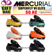 New Outdoor Football Boots Mercurial Superfly VI CR7 SG ACC ...
