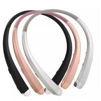2018 HBS 910 HBS-910 헤드폰 HBS910 이어폰 스포츠 스테레오 Bluetooth 4.0 무선 헤드셋 헤드폰 패키지 포함