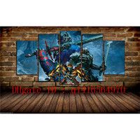 The Last Knight, 5 pezzi Stampe su tela Wall Art Olio su tela Home Decor / (Senza cornice / Incorniciato)