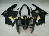 Spritzguss-Verkleidungskit für KAWASAKI Ninja ZX12R 02 03 04 05 ZX-12R ZX 12R 2002 2003 flach schwarz Verkleidungssatz