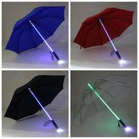 Serin Blade Runner Işık Saber LED Flaş Işık Şemsiye gül şemsiye şişe şemsiye Feneri Gece Yürüyüşe 5 adet