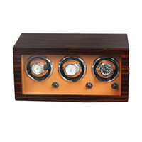 Luxe houten upgrade versie 3 + 0 mechanische horloges winder automatische horloge winder multifunctionele 5 modi horloge display box