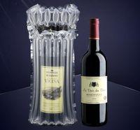 Luftsäule aufblasbare Weinbeutel Luftkissen Blase Glas geschützte Tasche schützende aufblasbare Blase Wein Wrap Bag für Flasche