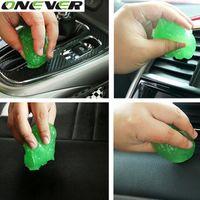 1 UNID productos de limpieza de automóviles magic cyber súper limpia salida de pegamento limpieza arandela de automóviles suministros espuma lanza microfibra esponja Gel