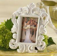 الباروك إطار الصورة هدية الزفاف إطار الصورة عيد الحب الباروك حامل بطاقة مكان أنيق بالجملة