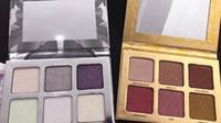 Mais recente Paleta de Maquiagem 6 cores Bronzers Highlighters 2 estilo Highlighter paleta de maquiagem de alta qualidade DHL grátis + Presente