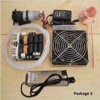 1000W ZVS chauffage par induction carte PCB chauffage par induction machine de chauffage en métal fondu + bobine Mayitr + pompe + alimentation