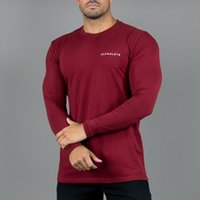 Alphalete Athletic Mens Brand Designer Long Sleeve T- shirt M...