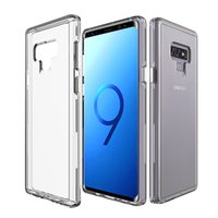 For Samsung Galaxy Note 9 Case Transparent Clear Hybrid Bump...