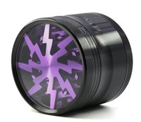 63mm 4 Layers Lightning- shaped Smoking Herb Grinders Tobacco...