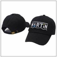 2 Colors New Martin Hat Martin Letter Embroidered Baseball C...