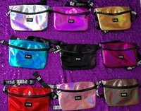 Laser Pink Letter Fanny Pack 9 Colors Waist Belt Bag Fashion...
