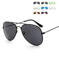 Adorável Sun-Óculos-para-crianças-Cool-Mirror-Reflective-Meta l-frame-Kids-Óculos-Girls óculos de sol