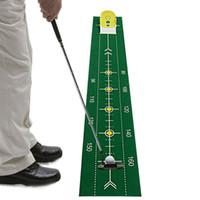 Yeni Golf Yeşil Kapalı Spor Putter Pratik Golf Eğitim Yardımları Ücretsiz Kargo Doğa Sporları koymak Eğitmen Golf koymak