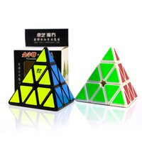 Puzzle cube Triangle Mini Magic Rubik Cube Pyramid Game Rubi...