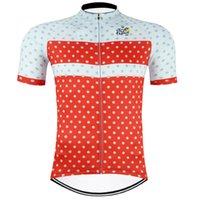 Tour de France Team Cycling Maniche corte Jersey Estate Mens Bike Wear Vestiti Uniformi Pro Abbigliamento Bicicletta