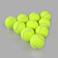 جديد الرياضة في الهواء الطلق التدريب الأصفر كرات التنس بطولة في الهواء الطلق المرح الكريكيت شاطئ الكلب التدريب الرياضى كرة التنس للبيع