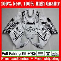 Cuerpo para HONDA CBR600 F3 CBR600RR F3 CBR600FS 95 96 47MT15 CBR 600F3 FS CBR600F3 CBR 600 F3 Negro blanco 1995 1996 Fairing Bodywork kit