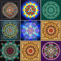Diy diamond painting cross stitch kit rhinestone full round ...