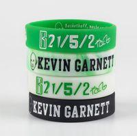 الذئب الملك غارنيت كرة السلة سيليكون سوار الرمزية ملهمة الاسورة العملاق الأخضر عدد المعجبين التوقيع اليد التذكارية