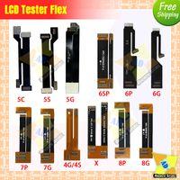 10pcs / lot Yüksek Kalite LCD Ekran Testi Dokunmatik Ekran Uzatma Tester Flex Kablo iPhone 5 6 7 8 6S 8P X XR XSMAX 11 ücretsiz Shiping için