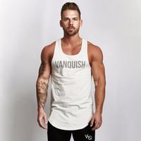 de verão sem mangas colete mens camisola sportswear roupa nova culturismo masculino musculares aptidão
