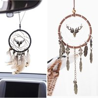Vintage Indian Style Dreamcatcher Net with Feather Handmade ...