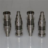 التيتانيوم الأظافر Domeless GR2 G2 التيتانيوم الأظافر 16mm وسخان لفائف Dnail D-مسمار Enail WAX مبخر