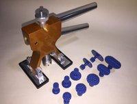 Hohe Qualität Auto Repair Tool Praktische Hardware Auto Body Paintless Dent Heber Reparatur Dent Puller + 10 STÜCKE Verdicken Tabs Hagel Removal Tool set