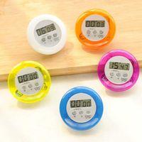Конфеты цвет магнитный ЖК-цифровой кухня таймер обратного отсчета будильник с подставкой кухонный таймер практические приготовления таймер будильник
