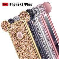 Bling paillettes para iphone x xs x r max max tpu case capa glitter shell tpu case para iphone 8 plus iphone 6 s 7 além de