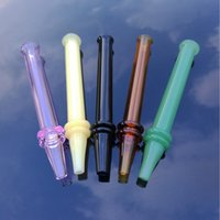 Multicolor verre Pyrex huile Pipes brûleur en verre Seringue Smoking Pipes droit Type Pipe en verre Nouveautés Accessoires fumeurs SW44