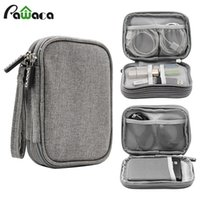 Travel Electronic Accessories Cable Organizer Bag Portable C...