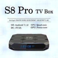 Factory S8 PRO Android Tv Boxes Amlogic S905W 1GB 8GB Androi...