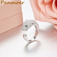 Top quality Brand 100% 925 Sterling Silver Mini leopard ring...