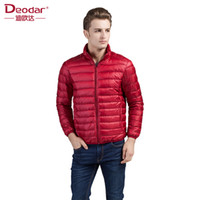 Deodar Men Ultra Light Down Feather Jacket Coat Men Winter F...
