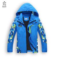 куртки aipie детей 1шт мальчик пальто дети активный одежда двухэтажных водонепроницаемый ветрозащитный мальчики сотрет