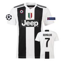 18 19 RONALDO Soccer Jersey Hombre JUVENTUS Camiseta de fútbol MANDZUKIC  Maillot de foot HIGUAIN MARCHISIO 15370f28948f9
