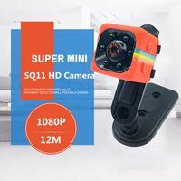 Mini Câmera SQ11 HD 1080 P Camcorder HD Night Vision Mini Câmera de Esportes Antena Mini DV Gravador de Voz de Vídeo PK SQ8