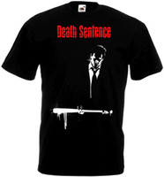 T Shirt With Sayings Short Divertente Girocollo Mens Death Sentence Ver.2 T-Shirt Black Movie Poster Tutte le taglie S To 3XL T Shirt