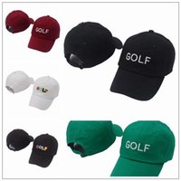 5 Colors New The Creator Golf Hat Golf Letter Embroidered Ba...