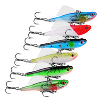 New Plastic Wobbler bass Fishing lure 6. 8cm 17. 4g Shallow Di...