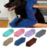 80*35cm Pet Drying Towel - Dog Cat Bath Quick Dry Towels Mic...