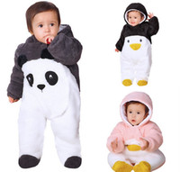 Autumn winter baby Clothes newborn jumpsuit infant cotton th...