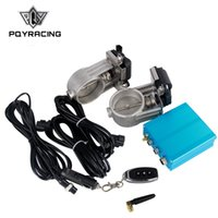 "PQY RACING - 2. 5"" 63mm Vacuum Exhaust Cutout Electric C..."